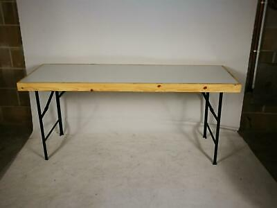 Fold Out Wooden Table (E37-4B0-9D9)