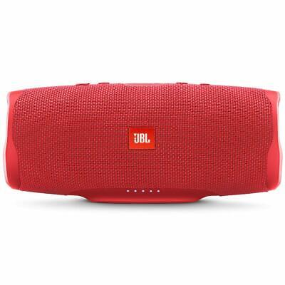 JBL Charge 4 Portable Bluetooth Speaker, Red, New