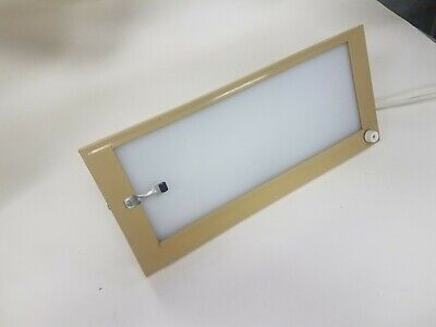 Clive Craig Beige Plastic X-Ray Light Viewer Desk Model