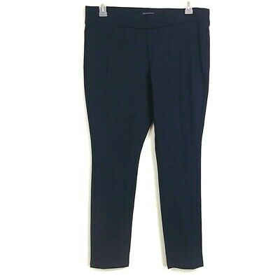 NYDJ Not Your Daughters Jeans Womens sz 14P Navy Blue Ponte Knit Casual Pants