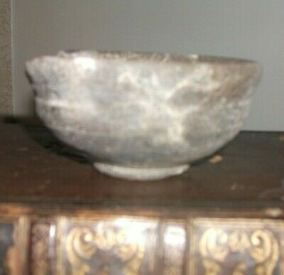 Ancient Artifact Collection , lot 4 Roman bowl a/f 2nd century AD  artifact