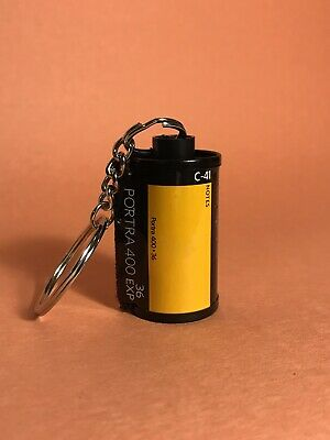 Kodak Portra 400 35mm Film Canister Key Chain