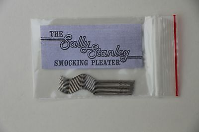 12 Sally Stanley Smocking/Pleater needles for Sally Stanley Pleaters