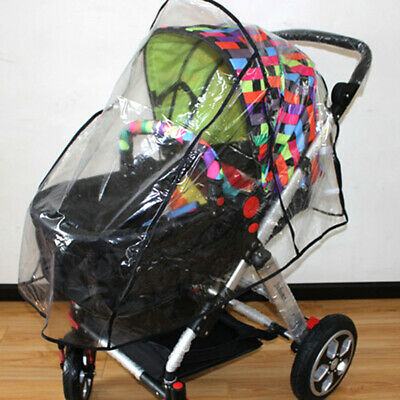 Best-selling Universal Buggy Pushchair Stroller Pram Transparent Rain Cover Baby