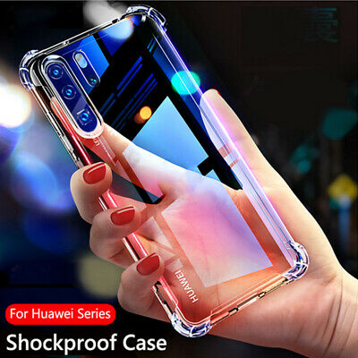 Shockproof Silicone Phone Case For Huawei P30 Lite P20 Pro Mate 30 20 Nova 5T Y9