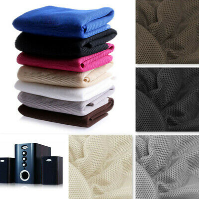 Stereo Gille Fabric Speaker Mesh Cloth Dustproof Protective Acoustic Breathable