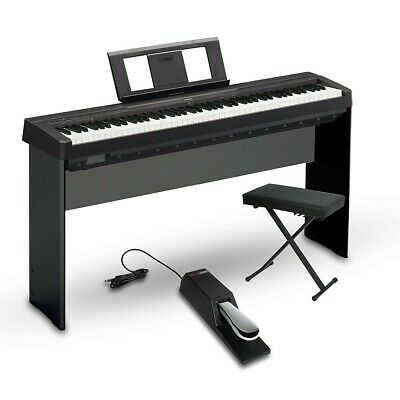 Yamaha P-45 88-Key Weighted Action Digital Piano Intermediate Home Package