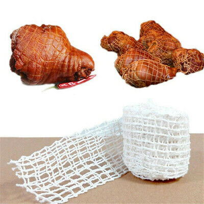 Meat Ham Sausage Net 5 Meter Cotton Mesh Butcher's String Roll Packaging Tool N7