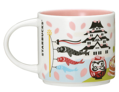 Starbucks You Are Here Collection Mug JAPAN Spring 414ml limited