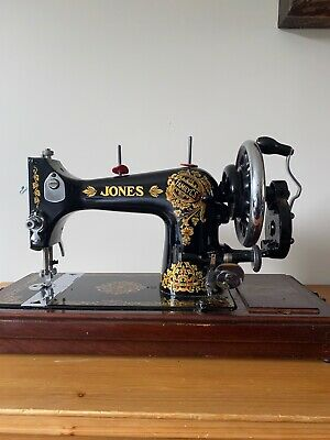 vintage jones sewing machine