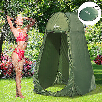 Outsunny Pop Up Shower Tent Portable