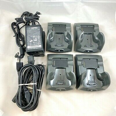 Lot of 4 Motorola Symbol Single Bay Cradles CRD7X00-1000RR MC70 MC75 MC75A