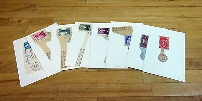 IRELAND 1946-1954 First Day Cover FDC Cancel Selection. (8 items)