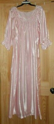 Women's Ankle Length NightGowns Long Sleeve All Colors Sizes Small Large X-Large