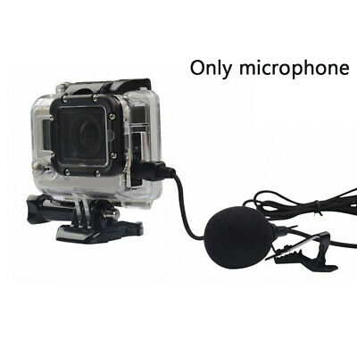 Audio Omni-directional Microphone Stereo Mic External Wired Mini USB for GOPRO