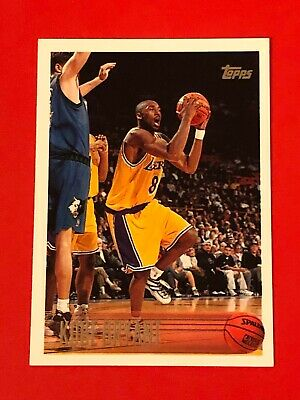 1996-97 Topps Kobe Bryant Rc Rookie #138 Black Mamba La Lakers