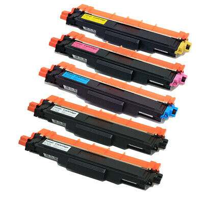 5PK TN227 TN223 2BK C M Y with chip Toner Cartridge For Brother HL-L3210CW L3710