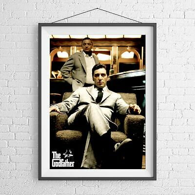 SCARFACE AL PACINO CULT CLASSIC MOVIE POSTER PICTURE PRINT Sizes A5 to A0 *NEW**