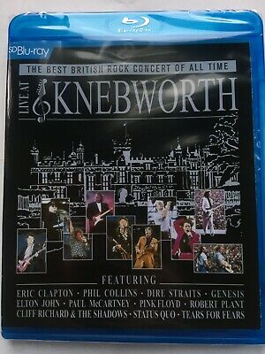 The Best British Rock Concert Of All Time Live At Knebworth (NEW Blu-ray disc)