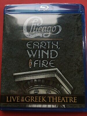 Chicago and Earth Wind and Fire Live at the Greek Theatre (NEW Blu-ray disc)