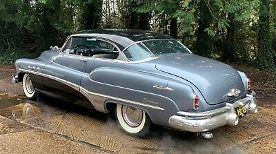Buick Super 8 2 door coupe 1951 fireball straight 8 classic american swap px