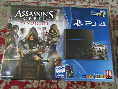 Playstation 4 Console Assasin's Creed Syndicate Edition PS4 System Empty Box