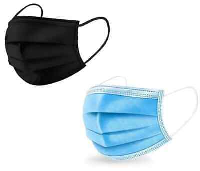 Surgical 3-layer Disposable Face Mouth Masks Anti-Dust Melt blown Cloth Masks