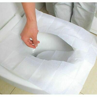 24 x Toilet Seat Covers Paper Travel Flushable Hygienic Disposable Sanitary