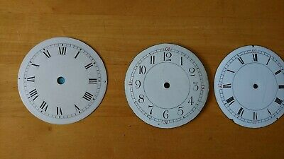 Mantle clock dials