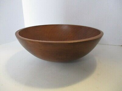 Vintage Wooden Bowl by Woodcraftery Handmade - Made in USA