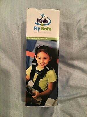 CARES Kids Fly Safe Airplane Aviation Safety Harness New