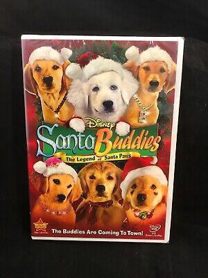 2009 DVD Disney Santa Buddies The Legend Of Santa Paws BRAND NEW