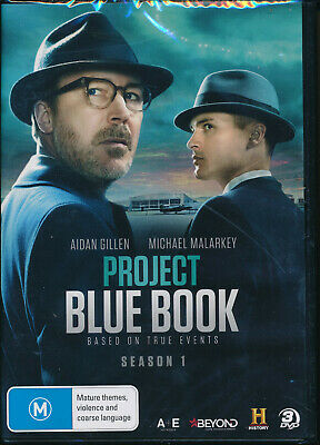 Project Blue Book First Season 1 One DVD NEW Region 4