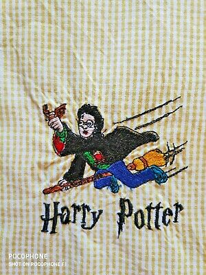 Handmade Kids Library bag HARRY POTTER Embroidered FREE POST *G