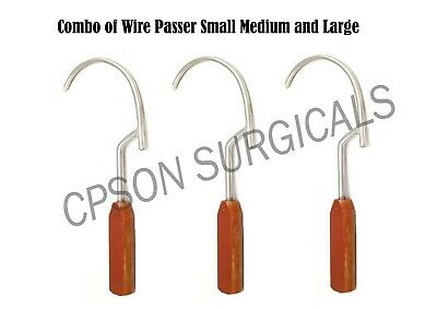 Orthopaedic Wire passer Guide with Fiber handle Veterinary