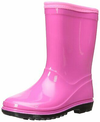 Itasca Kids' Youth Puddle Hopper Waterproof Rain Boot, Pink, Size 0.0 US /