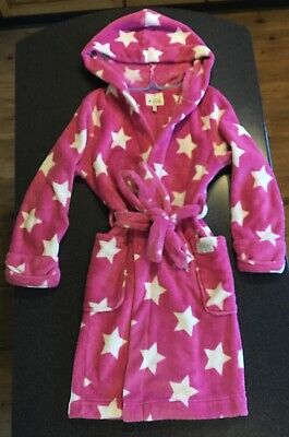 Joules 'Goodnight Wear' - Girls Pink Dressing Gown (Size 11-12 yrs) Exc. Cond