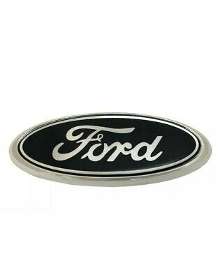 Ford Transit Connect Mondeo Fiesta 115mm x 45mm badge (Black)