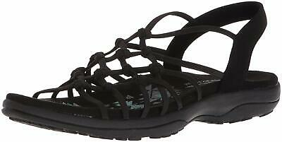SKECHERS WOMENS REGGAE Slim Vacay Shoes Sandals Blue Sports