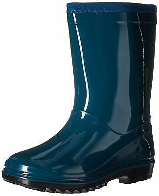 Itasca Unisex Youth Puddle Hopper Waterproof Rain Boot,, Turquoise, Size 0.0 US