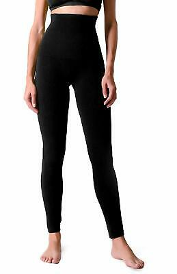 Women's High Waist Compression Top Leggings French Terry Lining