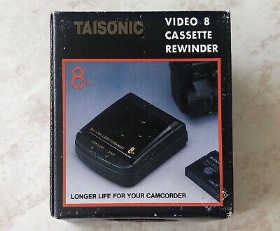 TAISONIC T-88 8mm Video Cassette Rewinder