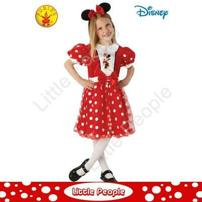 MINNIE MOUSE RED GLITZ, CHILD COSTUME 4 - 6 years