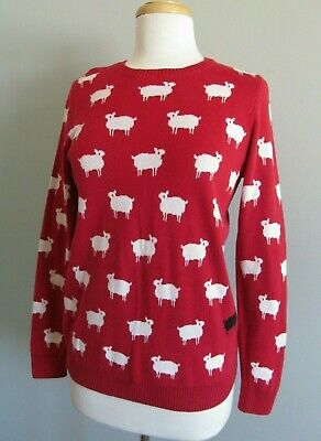 Black Sheep in the Family! Charter Club Graphic Sweater Women's Size Small