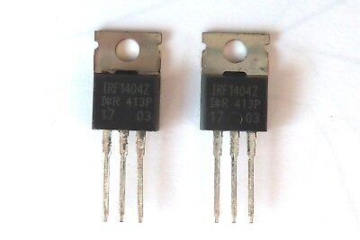162 A 5 x International Rectifier IRF1404PBF TO-220 N Mosfet 40 V