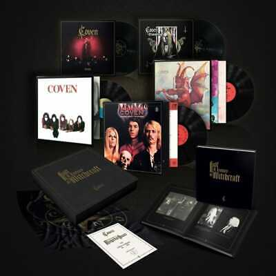 COVEN 'JINX' NEW BOX SET, Vinyl, Hand signed, 'Half Century of  Witchcraft'