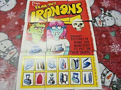 1975 Topps Original  Wacky Packages 15th Series Complete Check List Puzzle 9/9
