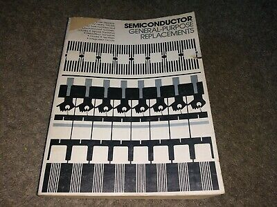Semiconductor General Purpose Replacements Parts Listings Guide Manuel Preowned