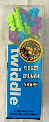 Twiddle Fiddle Toy NEW! 70 Pc Blue