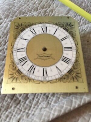 """Seth Thomas Electric Clock Movement And Face 6.5"""" By 5.75"""" For Restoration"""